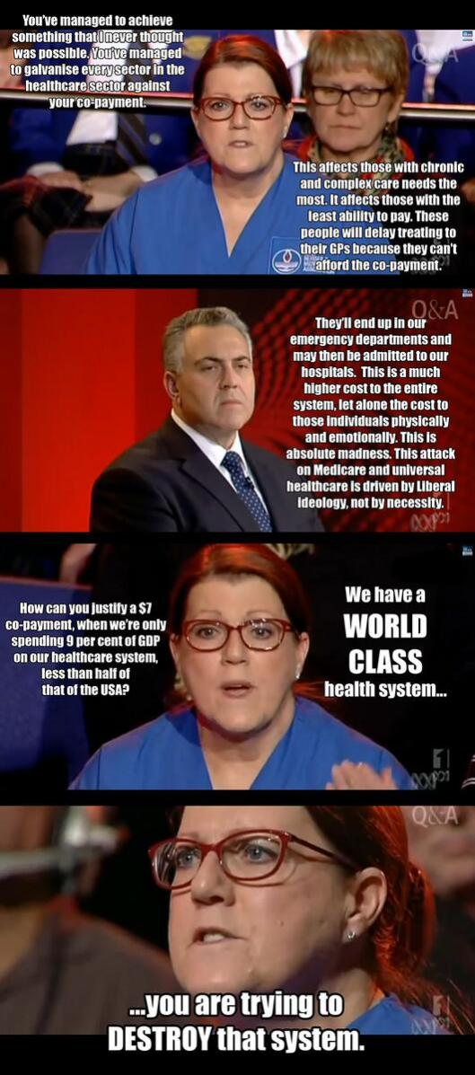 Amazing NSW nurse Kerry Rodgers on QandA